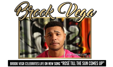 "Brook Vega celebrates life on new song ""Rosé Till The Sun Comes Up"""