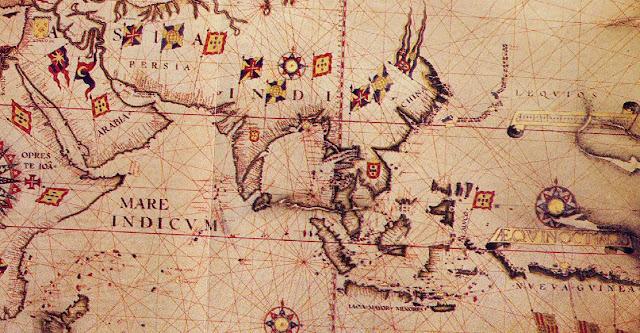 Peta Asia Masa Penjajahan