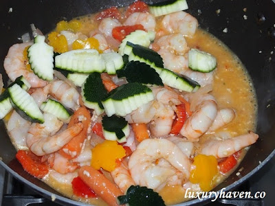 nandos peri stir fry shrimps recipe