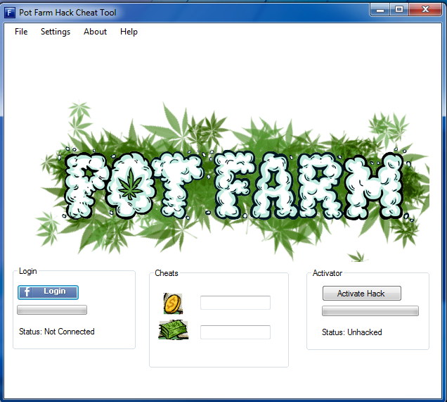 POT FARM FACEBOOK HACK CHEAT TOOL V2.1 (2013) | GamesHacks