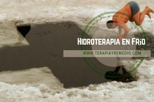 En medicina alternativa, la hidroterapia en frío es una terapia aplicada para conseguir determinadas reacciones del cuerpo.