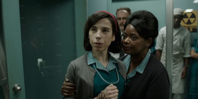 Sally Hawkins Octavia Spencer Guillermo del Toro| The Shape of Water