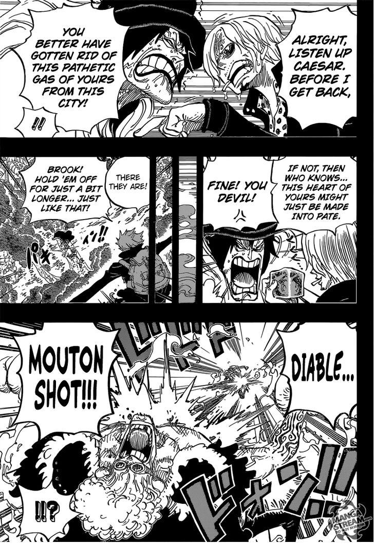 One Piece - Chapter 813