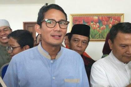 Buka Data Dugaan Kecurangan, Sandiaga Undang Kubu Jokowi