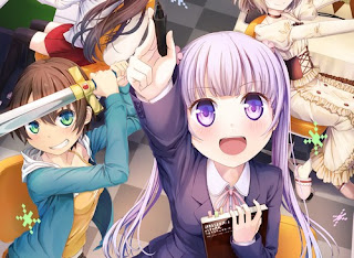 New Game! تقرير انمي