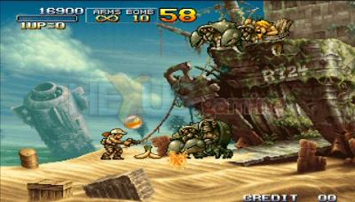 Download Game PPSSPP ISO Metal Slug 2 Full Version Ukuran Kecil [English Patch]