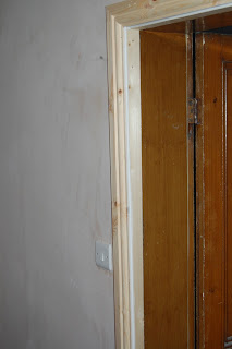 Solutions for old door casements after plastering