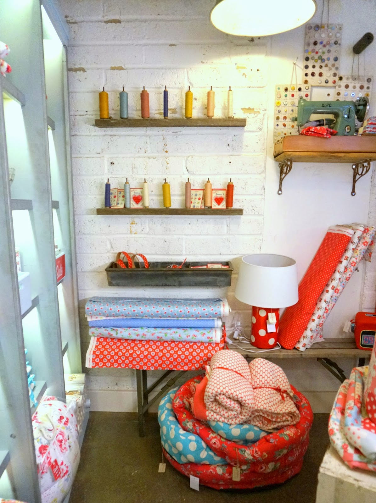 Fabric shopping in london diary of a quilter a quilt blog was the cath kidston shops ive been a total sucker for caths style for a while now and those shops are so full of my kind of color and inspiration doublecrazyfo Images