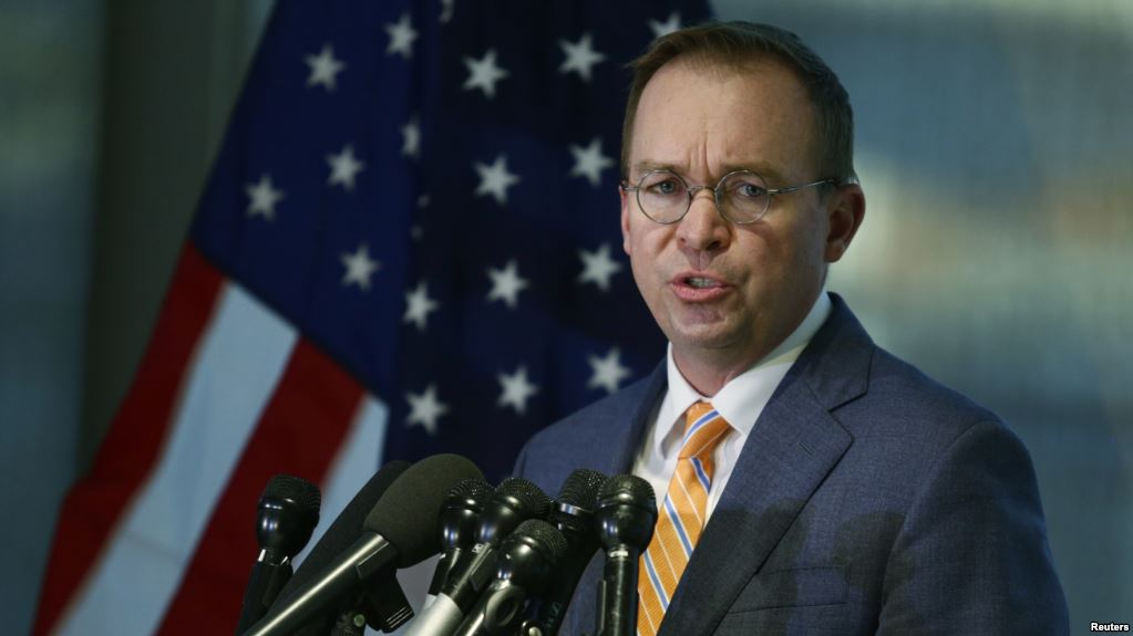 Mick Mulvaney, jefe de despacho del presidente Donald Trump / REUTERS