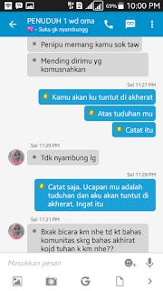 Penuduh Penipuan CUG Telkomsel
