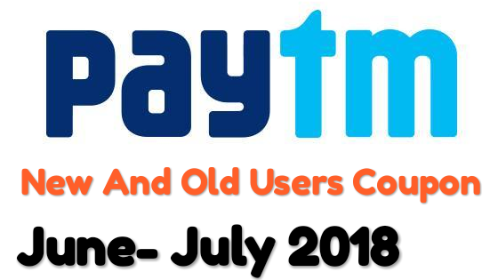 Paytm Working Promo Codes& Recharge Offers July 2018