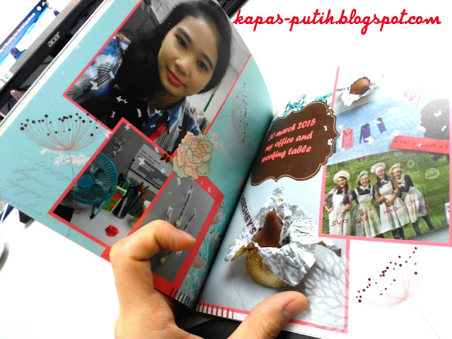 March 2015 Photo book Edition Kapas Putih