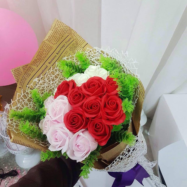 Hoa hong sap thom vinh cuu tai Cua Bac