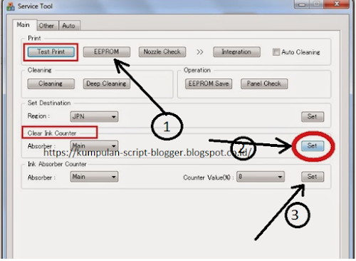 Cara mudah reset printer canon MP287 dan printer canon IP2770