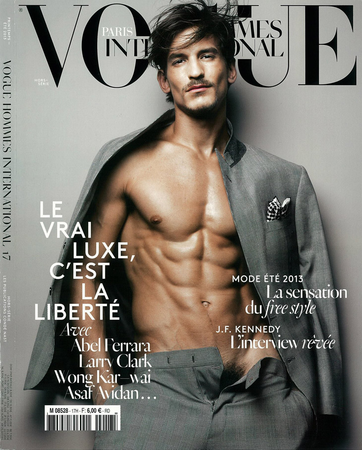 f2f26bf4967eb A Vogue Hommes International escolheu o modelo australiano Jarrod Scott