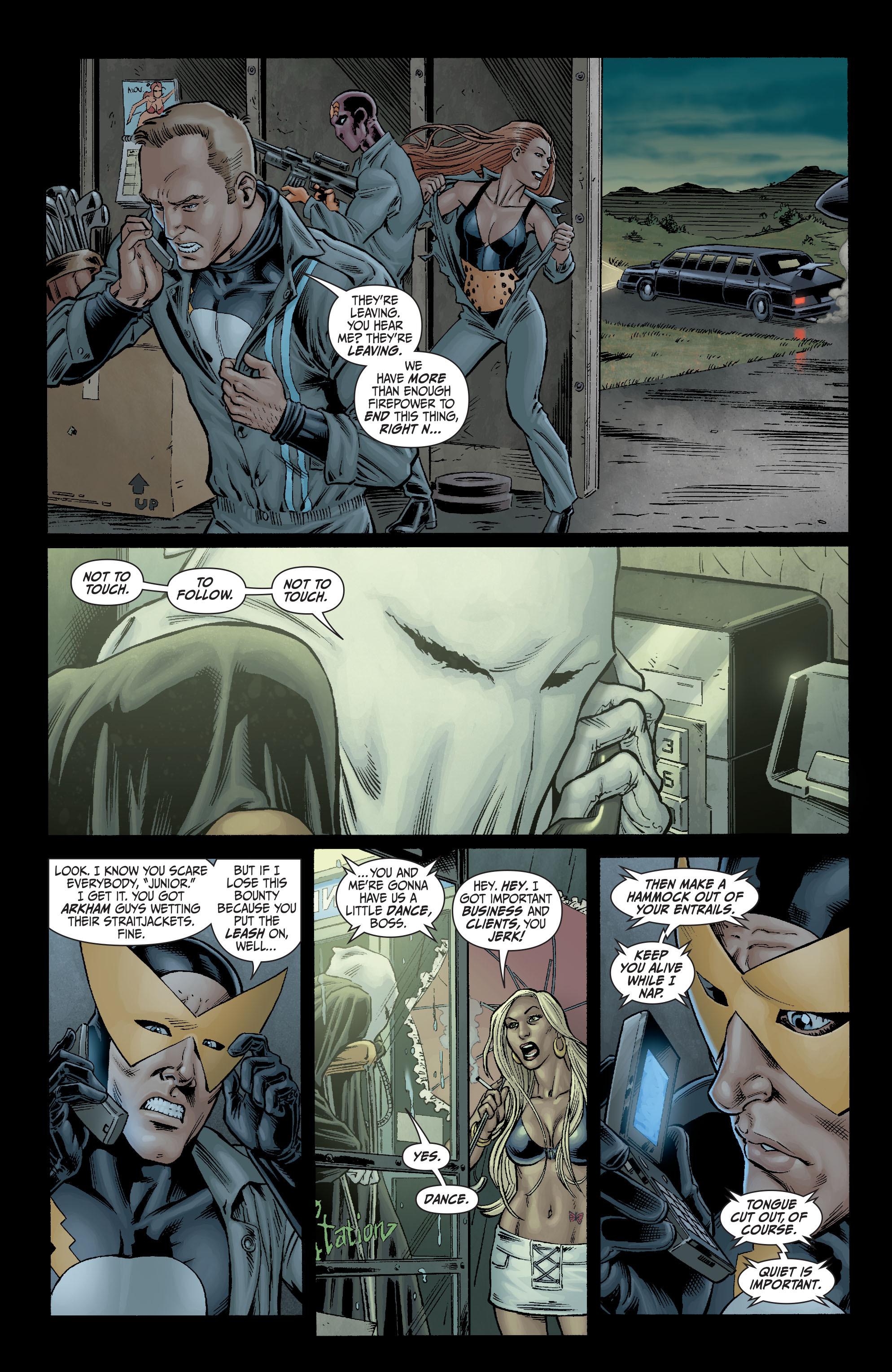 Read online Secret Six (2008) comic -  Issue #3 - 6