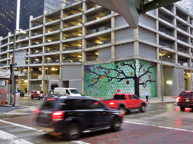 New Tree of Life Mural at SKANSKA Garage