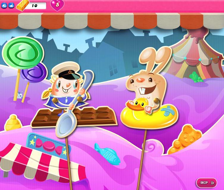 Candy Crush Saga 2016-2030