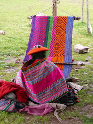 Woman Weaving, Sacred Valley of The Incas