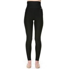 Proskins  SLIM HIGH WAISTED BLACK LEGGINGS