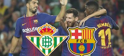 مشاهدة مباراة برشلونة وريال بيتيس بث مباشر بتاريخ 11-11-2018 الدوري الاسباني