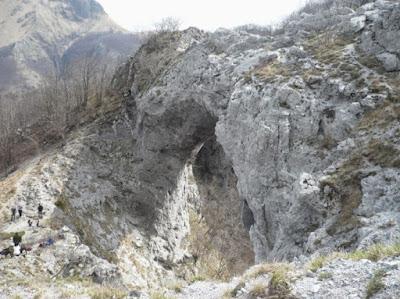 L'arco del Monte Forato