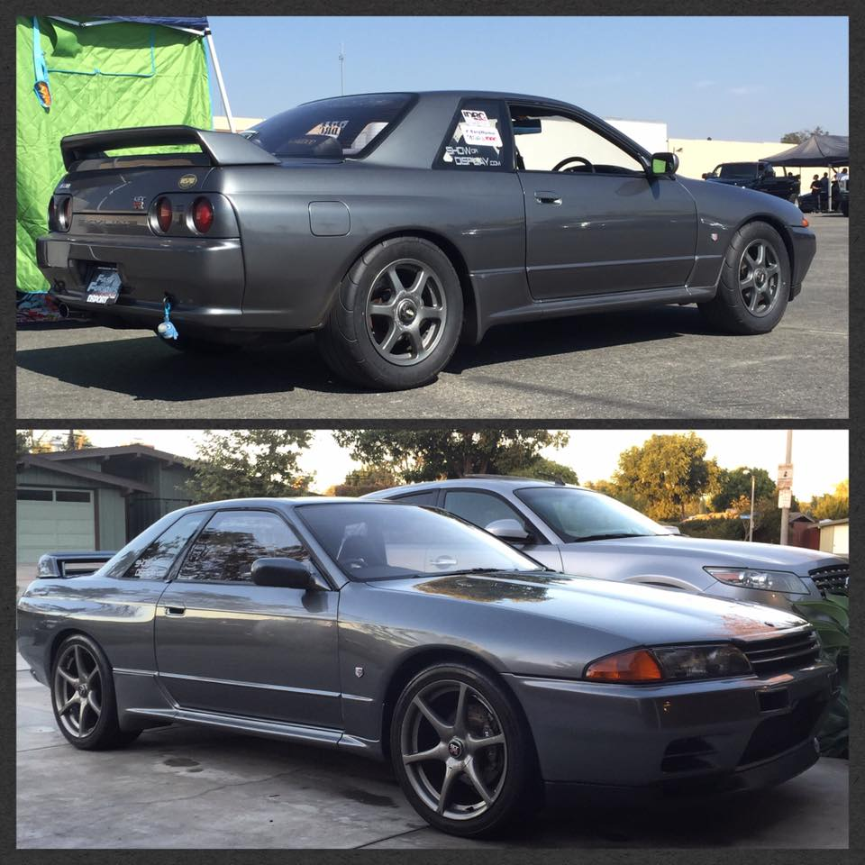 Nissan skyline gt r s in the usa blog 16 inch tire options for nismo on 16 inch mickey thompson drag radials and 18 inch r888 vanachro Images