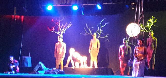 IMG 20170104 WA0024 A Drama Play at the Stage of Mathkhai Mahotsav, Balangir