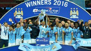 Manchester City Juara Piala Liga