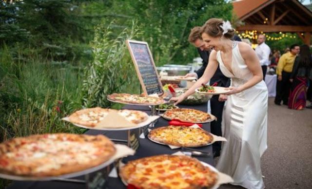 Gastronomia e buffet de casamento