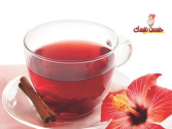 شاي الزهرة الخبازية (لكر كادية) لإنقاص الوزن