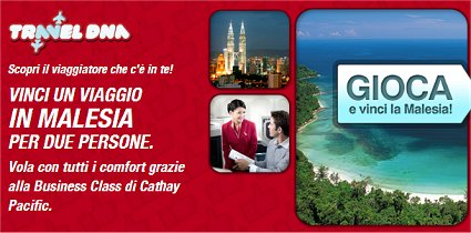 Travel DNA concorso Malesia