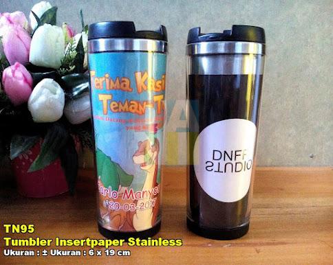 Tumbler Insertpaper Stainless