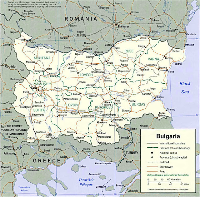 image: Bulgaria political map