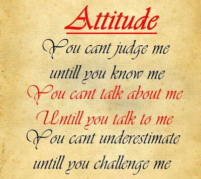 Smart Quotes on Attitude