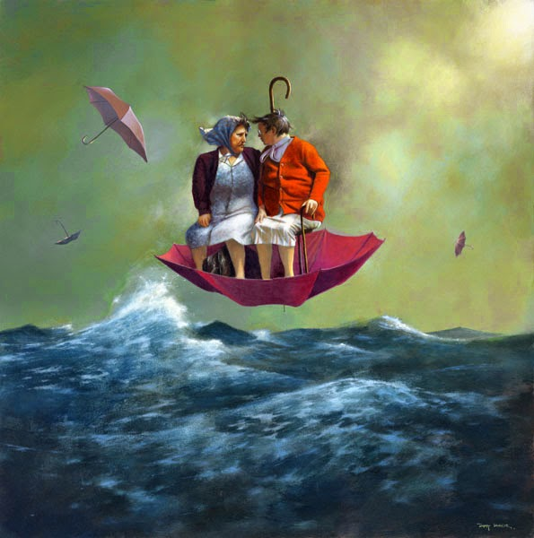 Um Dia Macio - Um mundo encantador pintado por Jimmy Lawlor