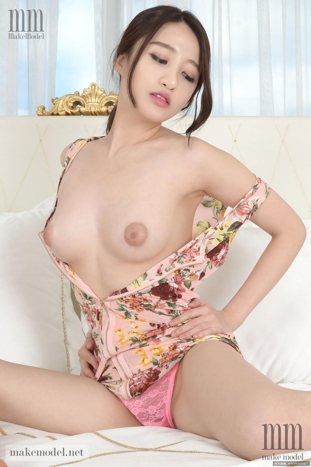 Korean nude model