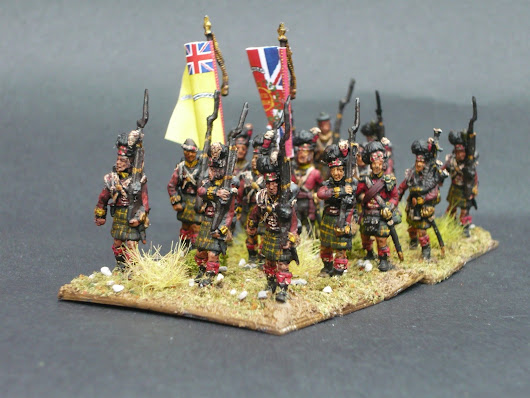 Refurbishment of 2nd Divison #1 - 92nd Foot (Gordon Highlanders)