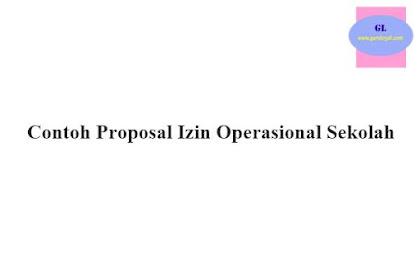 Proposal Izin Operasional Sekolah Dasar