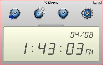 للتحميل: برنامج PC CHRONO الخفيف و الرائع