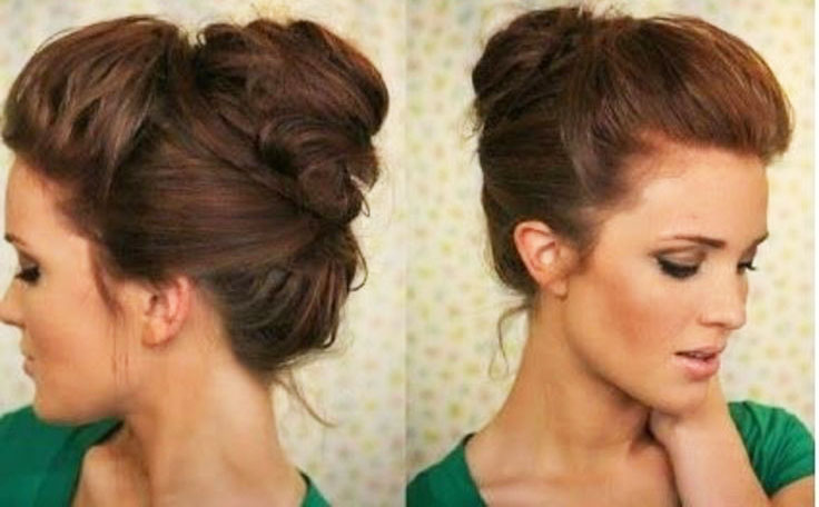 Step by step bun hairstyles