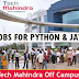 Urgent Requirement for Python & java Developer in Tech mahindra