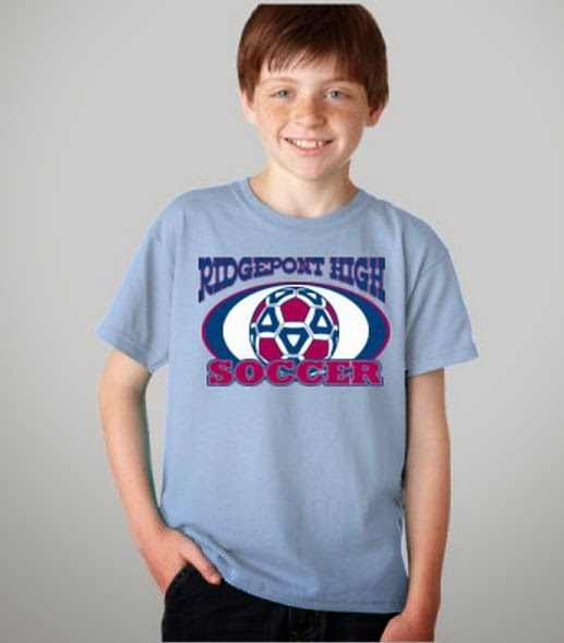 Soccer T-Shirt Design Template