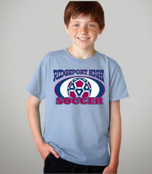 Soccer T-Shirt Design Template