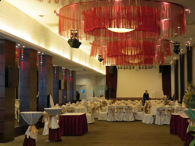 banquet hall of oriental banquet