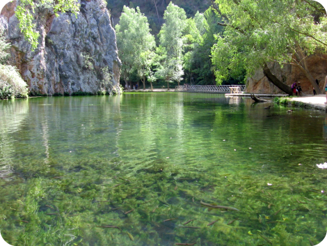 Lago del espejo - Monasterio de Piedra
