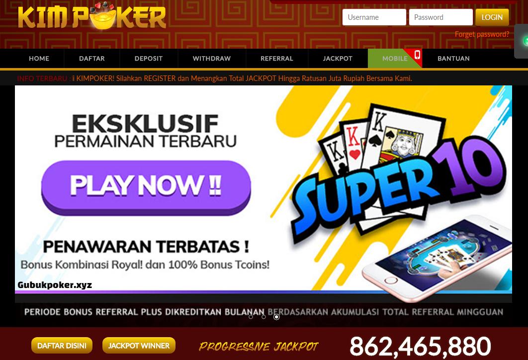 Kim Poker | Agen Judi Dewa Poker Online Indonesia Terpercaya | Domino Kiukiu | Bandar Ceme dan Capsa