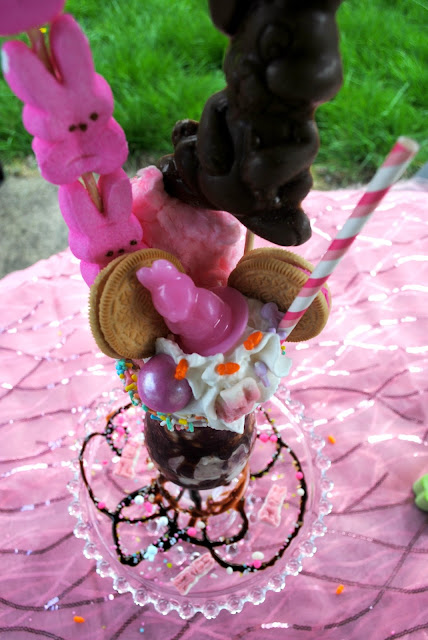 Crazy Easter milkshake sugar overload at FizzyParty,com