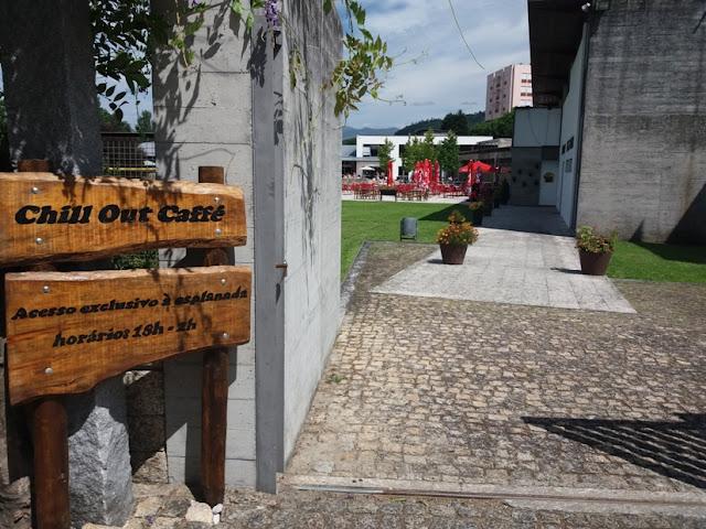 Entrada Complexo Piscinas Municipais de Ponte da Barca