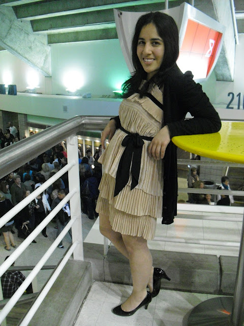 DVF Jolie Pleated Dress